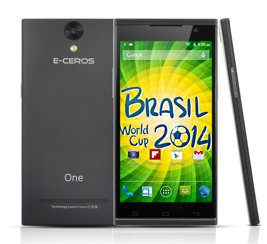 (M) E-Ceros One Android Smartphone (Black) (M)