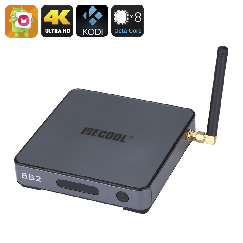 MECOOL BB2 Android TV Box - Octa Core Amlogic S912 CPU, 2GB RAM, Android 6.0, Kodi 17.0, 4Kx2K