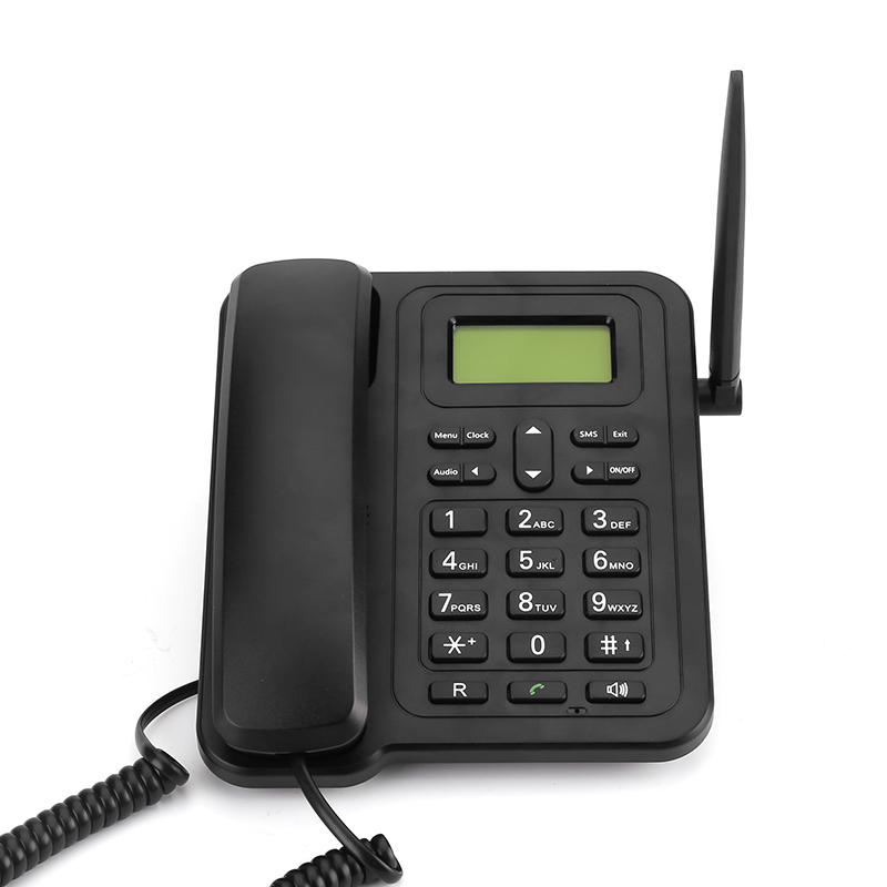 Fixed Wireless 3G Desk Phone - SMS Functionality, 1000mAh Removable Battery, 3G Network Connection