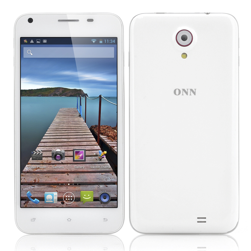 (M) ONN V8 Star 5 Inch Android 4.2 Phone (W) (M)