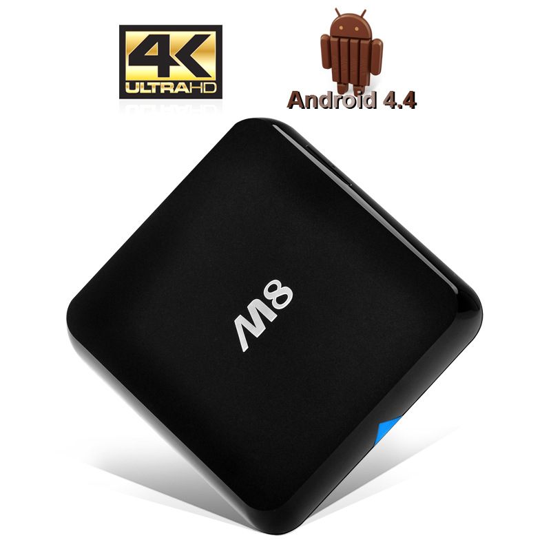 (M) 4K Android 4.4 Kitkat TV Box (M)