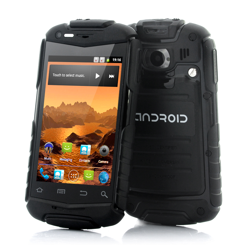 (M) Rugged 3.5 Inch Android Phone - Titan-N1 (BK) (M)
