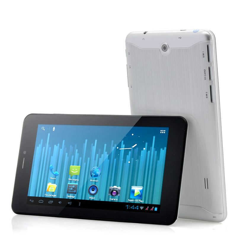 (M) 7 inch Android Phablet - Silver (M)