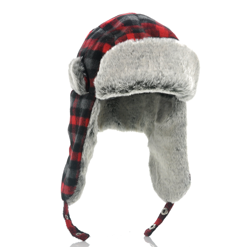 (M) Trapper Hat with Built-in Earphones (M)