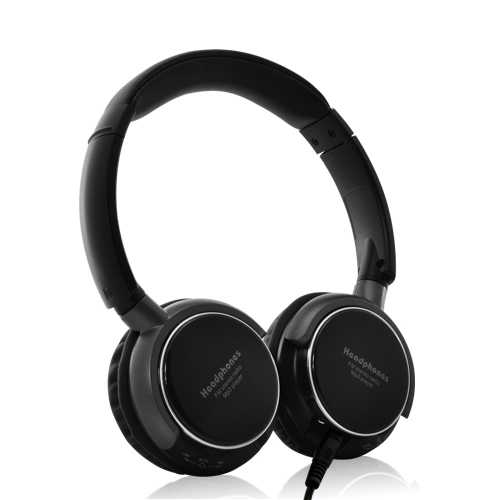 (M) Headphones with Built-In MP3 + FM - SoundMax (M)