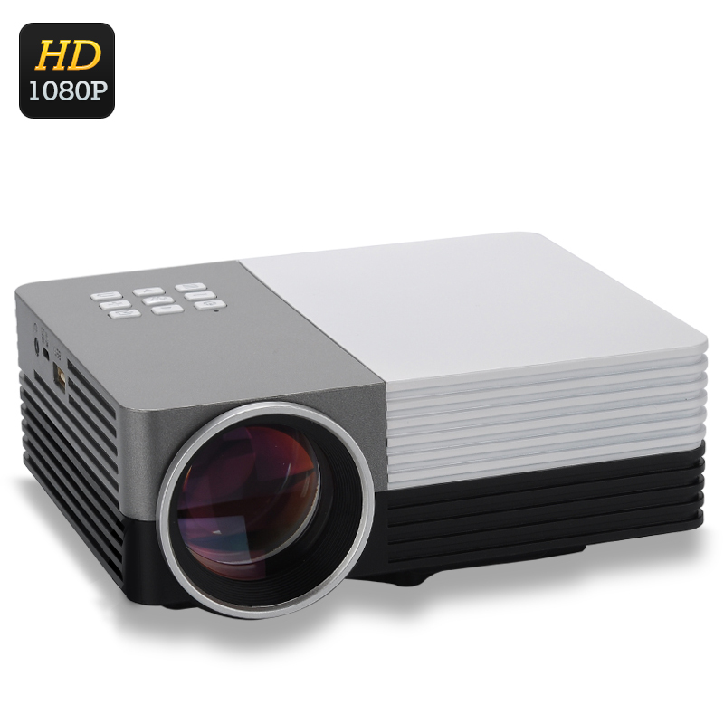 Mini lcd led projector 80 lumens 1080p support hdmi for Mini lcd projector