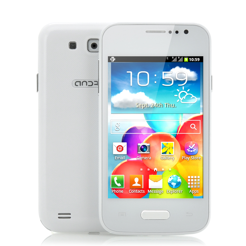 (M) 4 Inch Cheap Android Phone - Float (W) (M)