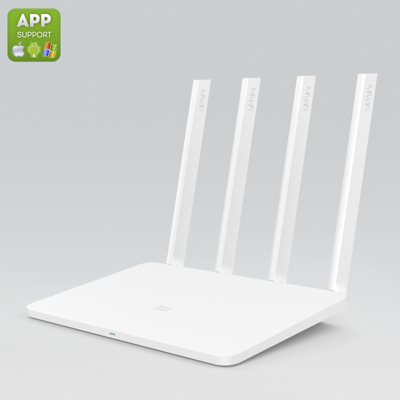 Xiaomi Dual Band Wi-Fi Router - 4 External Antennas, 1167Mbps, Dual-Band, App Control, Support Windows iOS Mac and Android