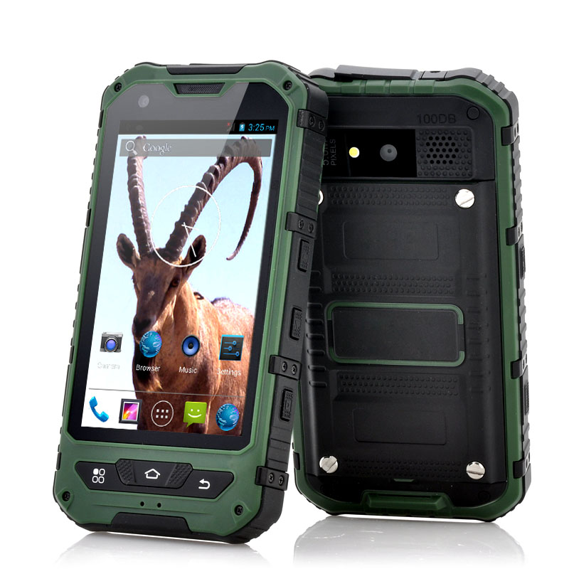 (M) 4 Inch Rugged Android 4.2 Phone - Ibex (G) (M)