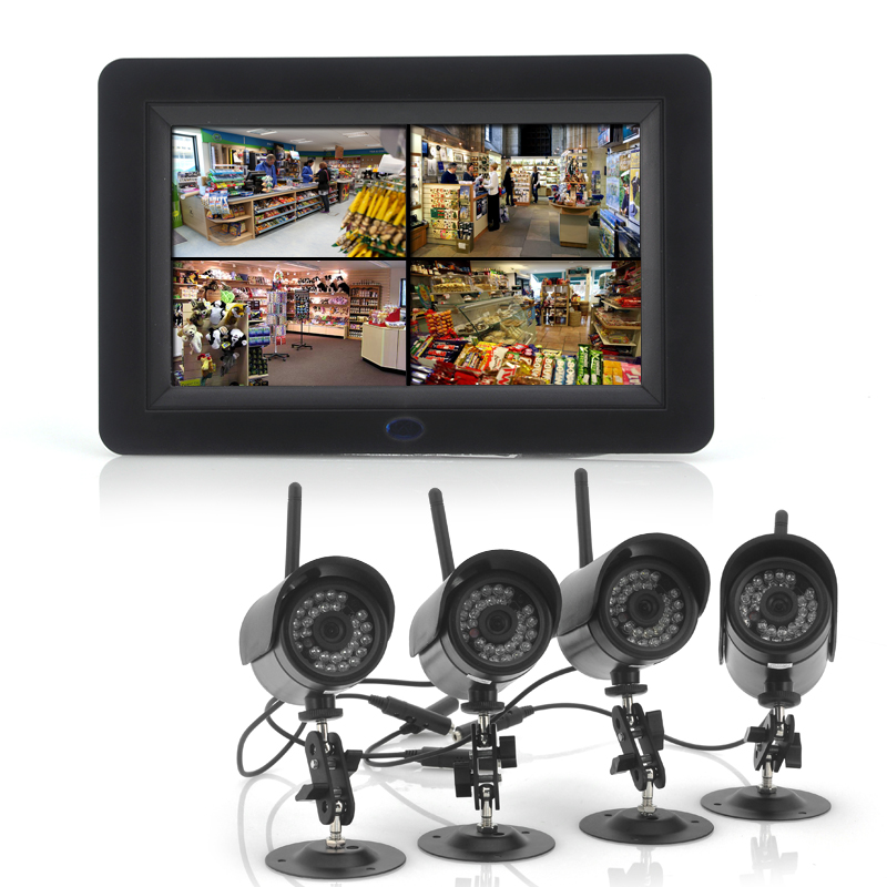 (M) 2.4GHz Wireless Digital Security Video System (M)