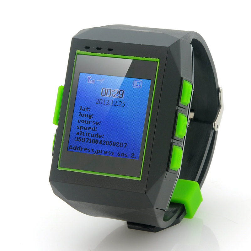 (M) GPS Watch Tracker w/ Phone - Geolock (M)