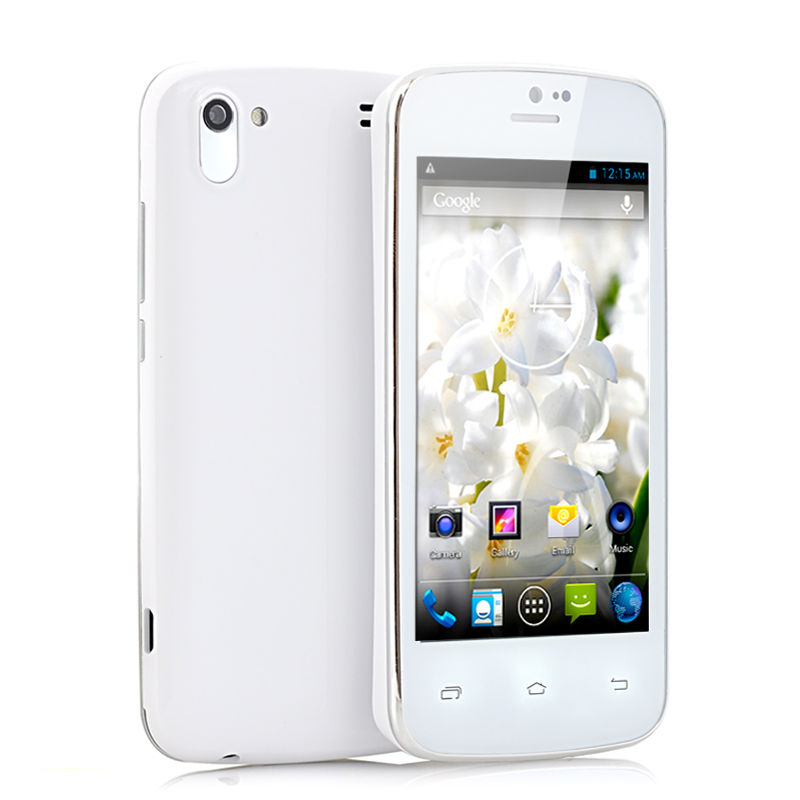 (M) 4 Inch Slim Android 4.2 Phone - Hyacinth (W) (M)
