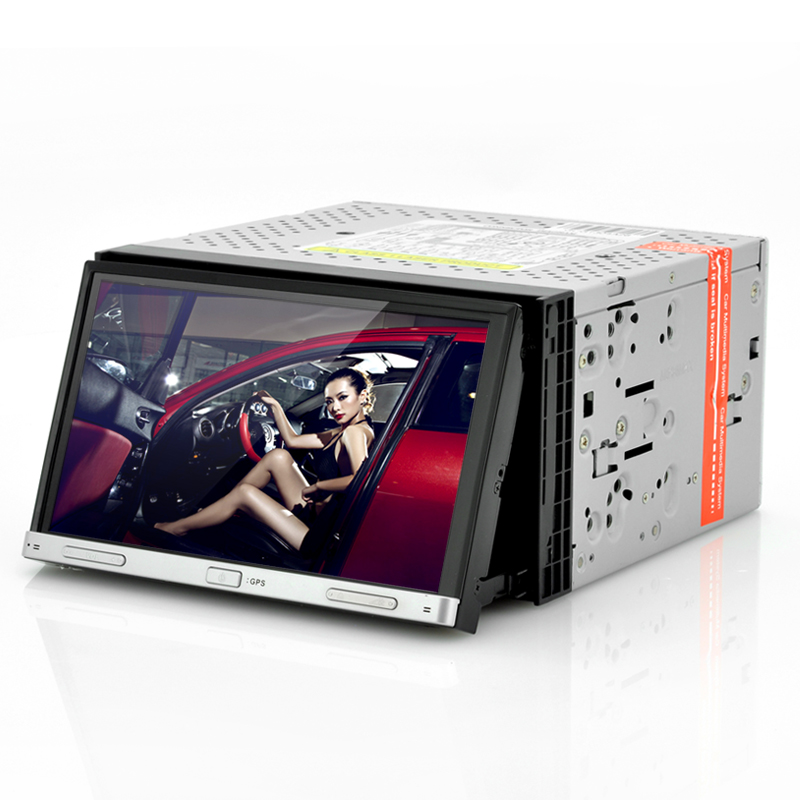 (M) 2 DIN 7 Inch Car GPS DVD Player - Road Hog (M)