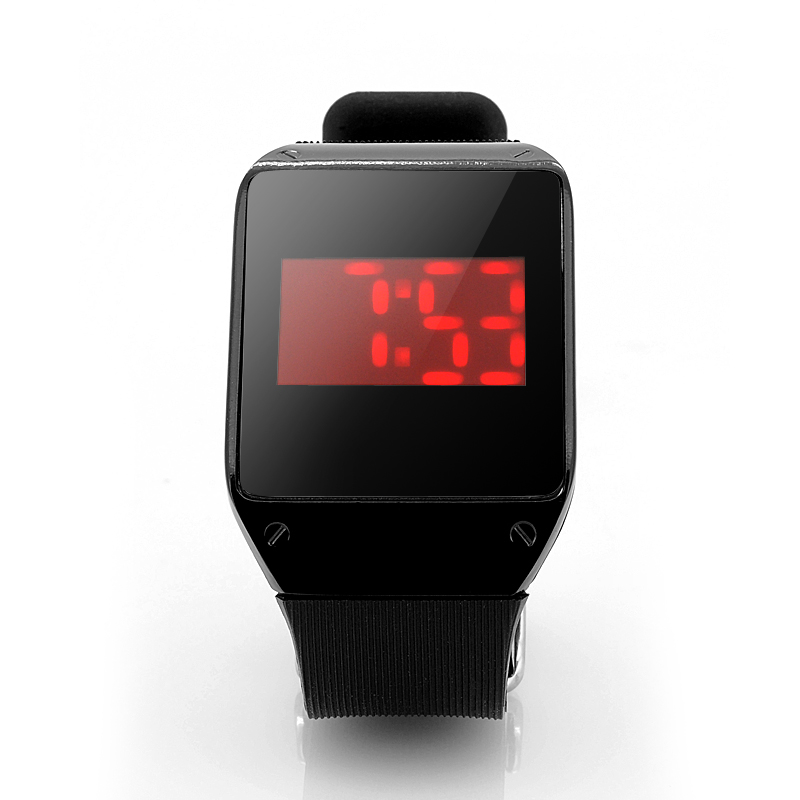 (M) Touch Screen Wrist Watch w/ 28x Red LEDs (M)