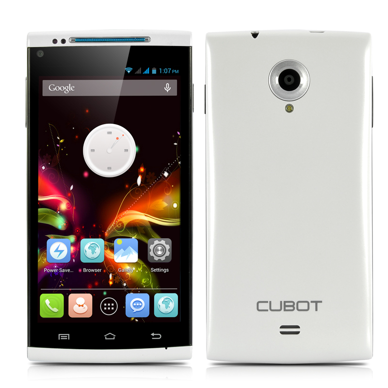 (M) Cubot X6 Octa-Core Android Phone (White) (M)