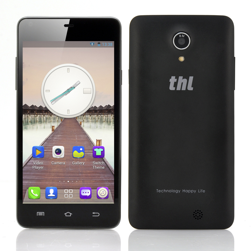 (M) thl T5S 3G 4.7 Inch Android Phone (Black) (M)