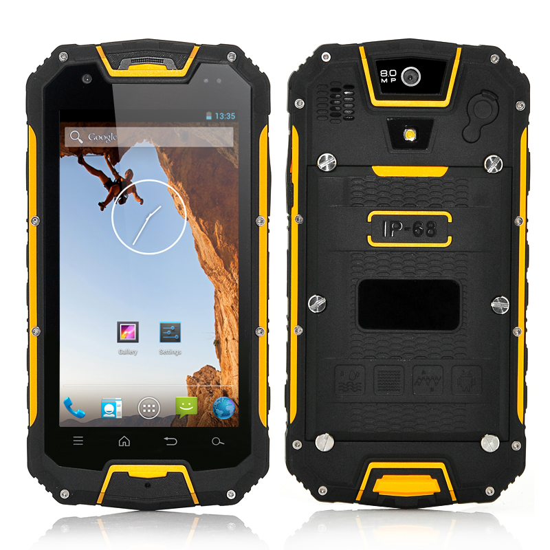 (M) Rugged Quad Core Mobile Phone (Yellow) (M)
