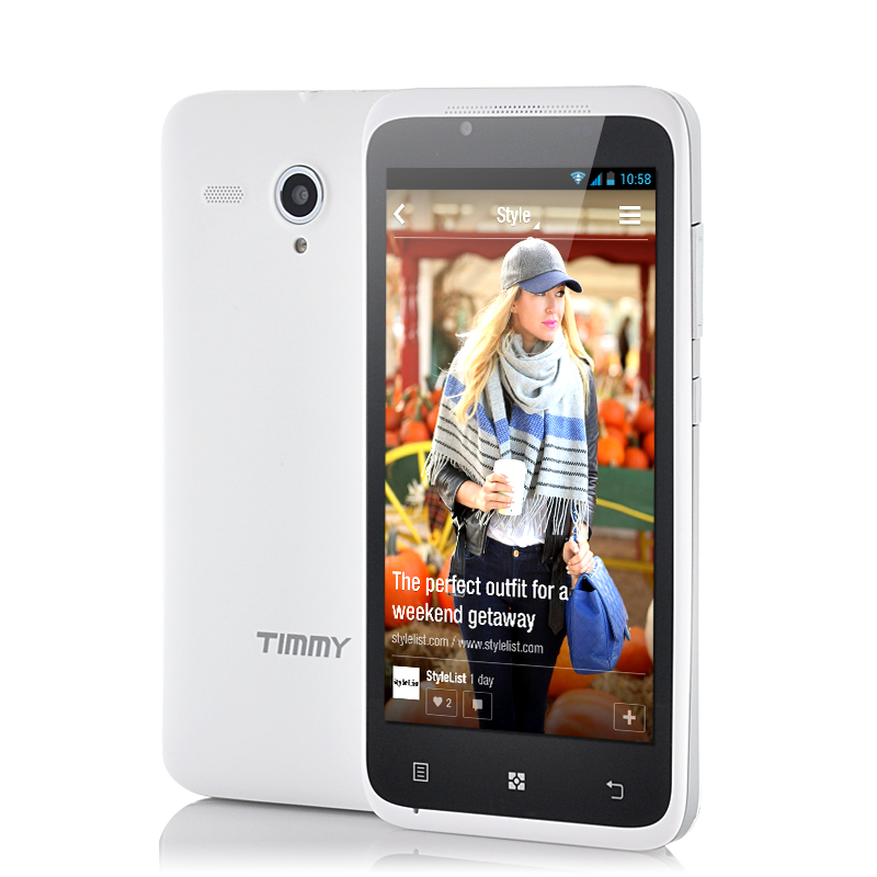 (M) Timmy E128 4.5 Inch Android Phone (W) (M)