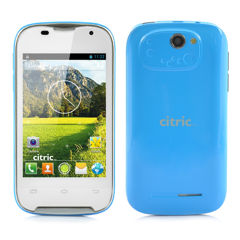 (M) Dual Core Android 3G Smartphone (Blue) (M)
