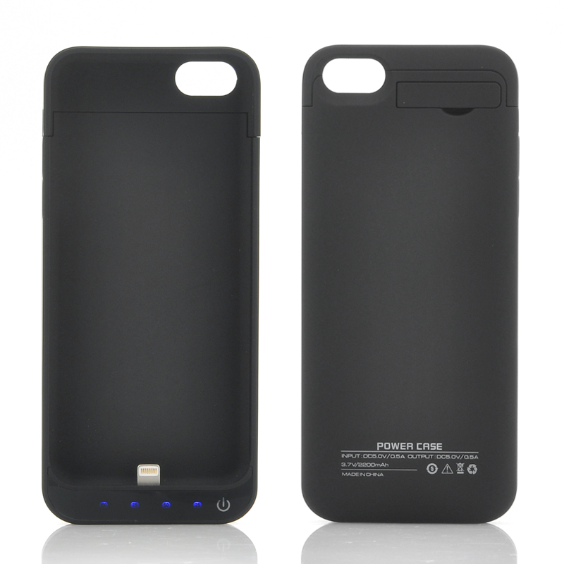 (M) External Battery Case for iPhone 5/5C/5S (B) (M)
