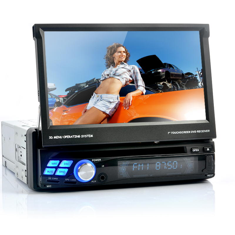 (M) Single DIN Car DVD Player (M)