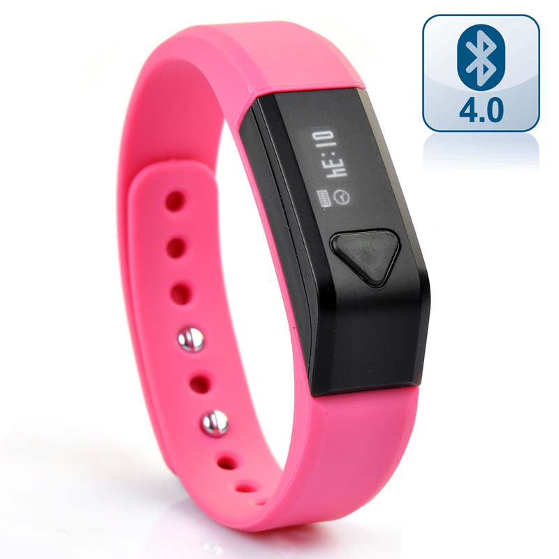 (M) Vidonn X5 Smart Wristband Bracelet (Red) (M)