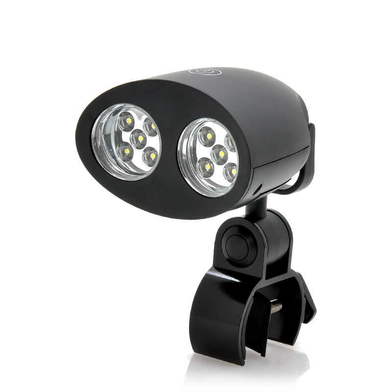 (M) Multifunctional 10x LED Light w/ Clamp Mount (M)