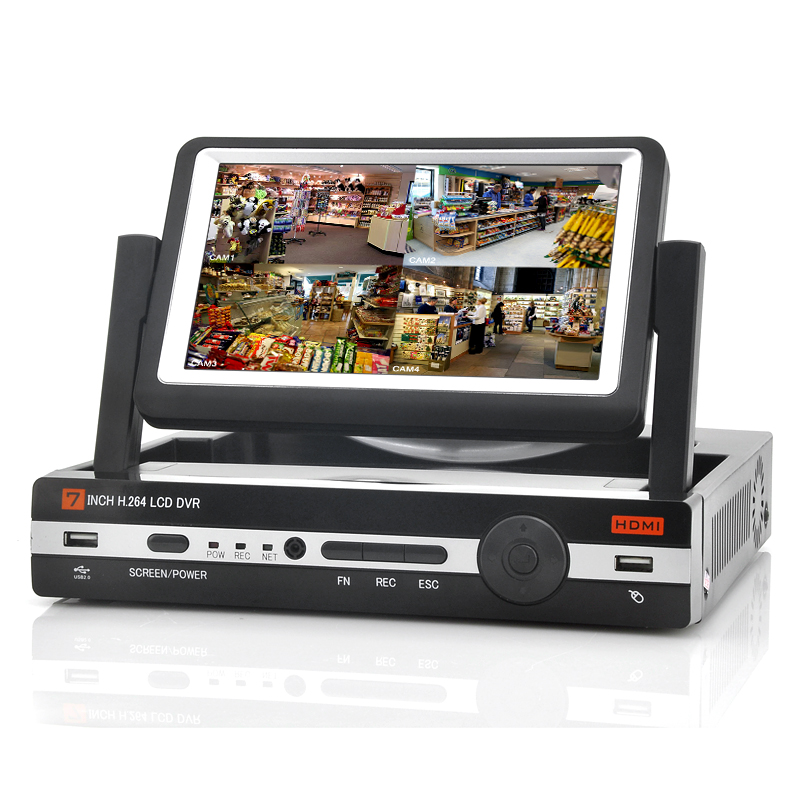(M) 8 Channel DVR With 7 Inch Screen (M)