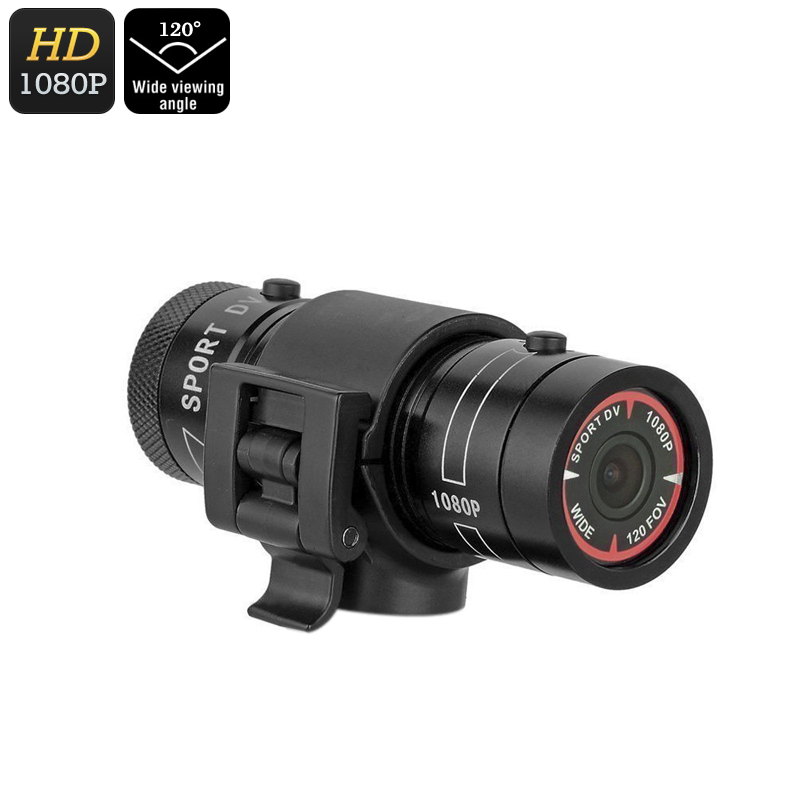 Kingear KG006 Mini Sports Camera - Solid Metal Body, Waterproof, 1080p Video, 1.3MP CMOS, 120-Degree Lens, TF Card Support