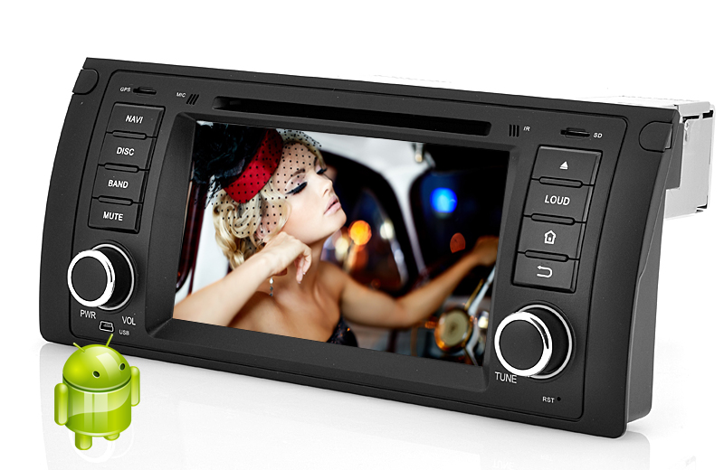 (M) 1 DIN Android 4.2 Car DVD Player for BMW E39 (M)