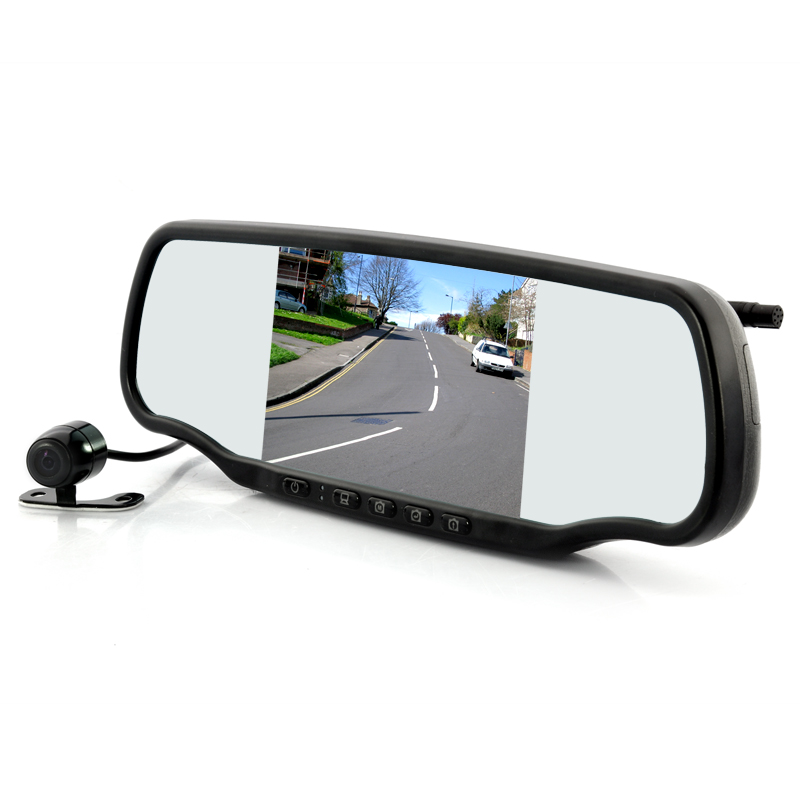 (M) Car Rear view Mirror with Dashcam (M)
