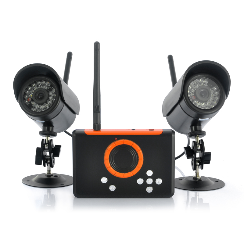 (M) Wireless Cameras + DVR Set (M)