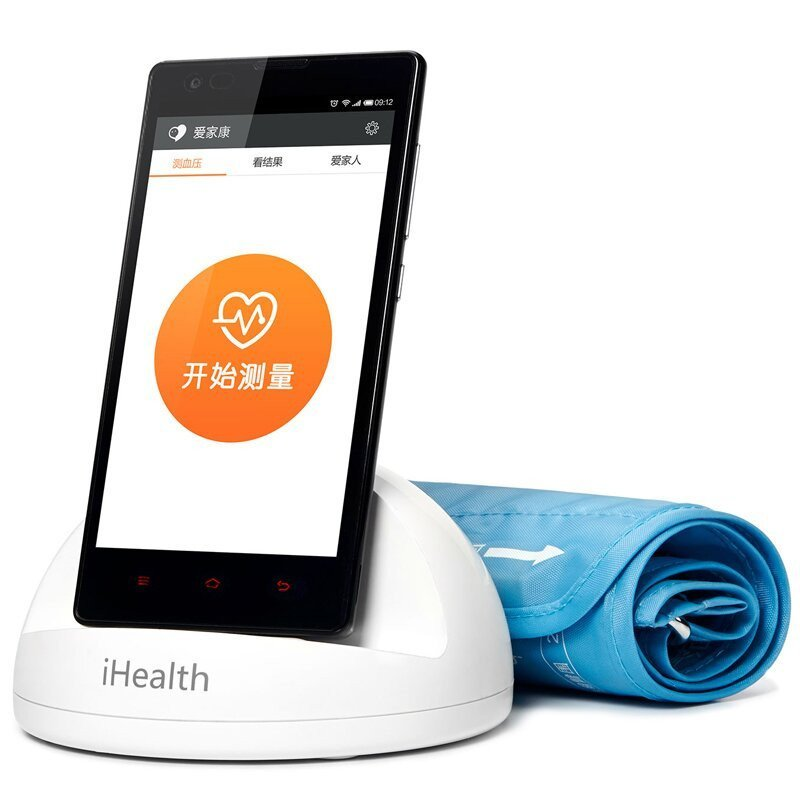 Xiaomi iHealth Smart Blood Pressure Dock - Bluetooth 4.0, WHO Classification, App Support, Records 3 Types Of Blood Pressure