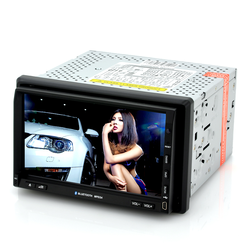 (M) 2 DIN Car DVD Player w/ Win CE 6.0 - Nitro (M)