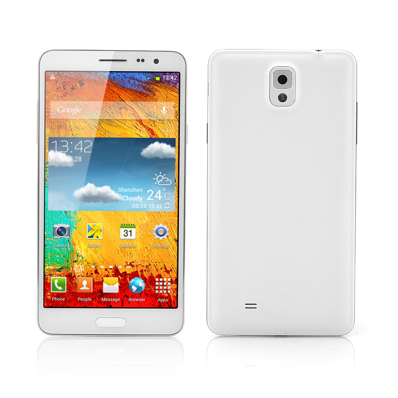 (M) Octa-Core Android Phone (White) (M)