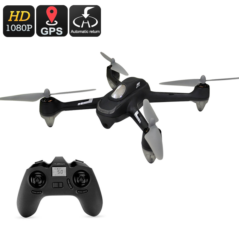 Hubsan X4 H501C RC Drone - 1080p Camera, GPS, 6-Axis Gyro, Brushless Motor, 20min Flight Time, 300m Control Range