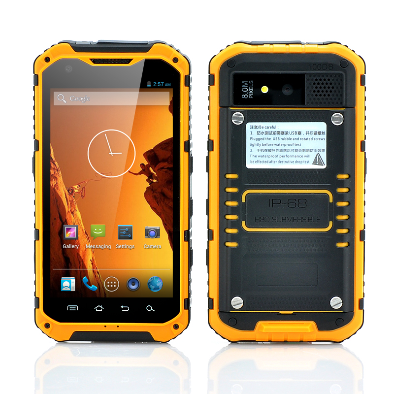 (M) 4.3 Inch Rugged Android Smartphone (M)