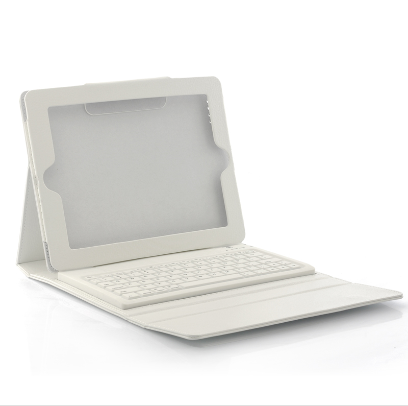 (M) White Keyboard Case for iPad (M)