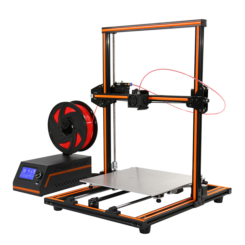 Anet E12 3D Printer Kit - 300x300x400mm Printing Volume, High Precision Printing, 120mm/s Printing Speeds, LCD Display