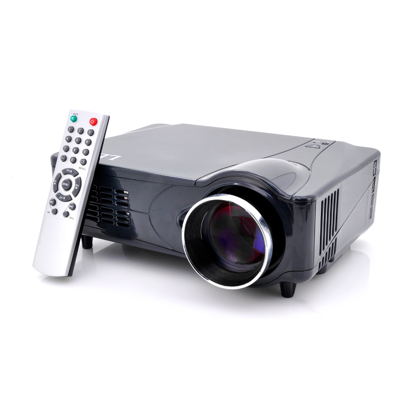(M) LED Home Theater Projector w/ HDMI + VGA (M)