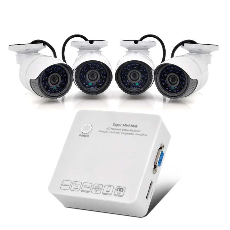 (M) 4 Channel HD Network Video Recorder System (M)
