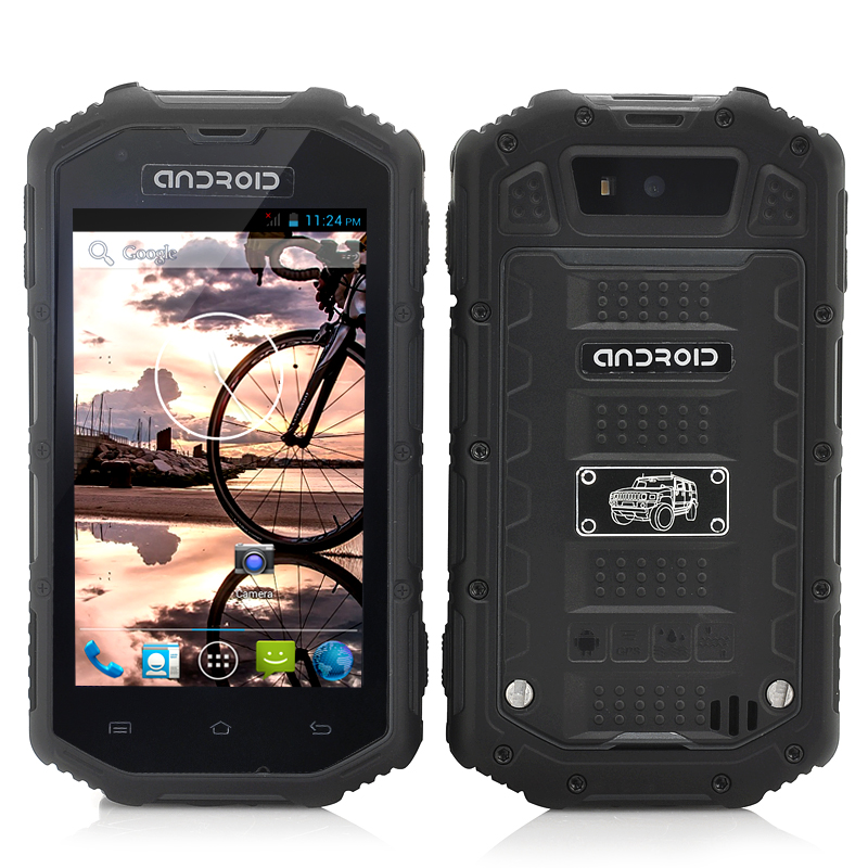 (M) Rugged Android Dual Core Phone (Black) (M)