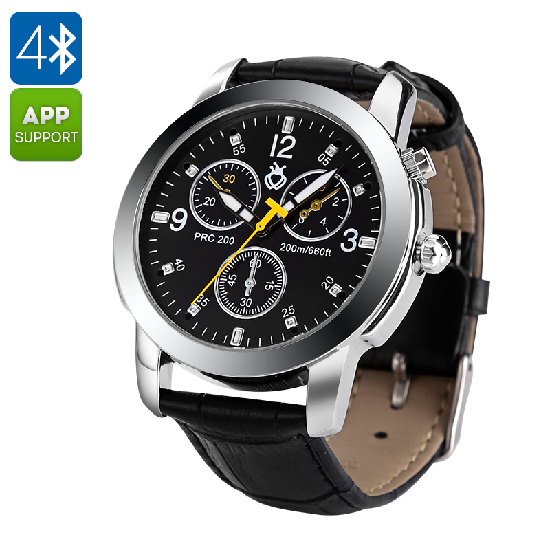 Bluetooth Sport Watch - Waterproof, Pedometer, Calorie Counter, Sleep Monitor, Notifications, Anti-Loss, Remote Camera Control