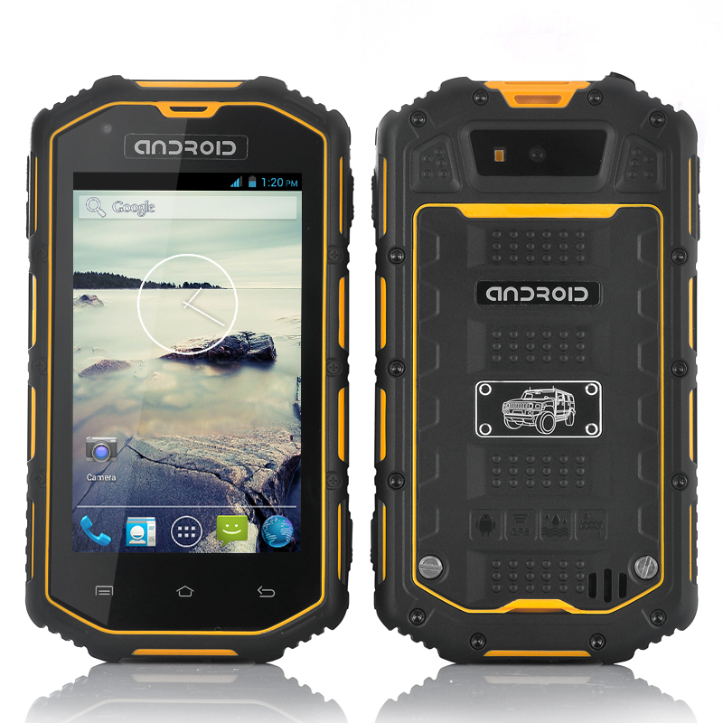 (M) Rugged Android Dual Core Phone (Yellow) (M)