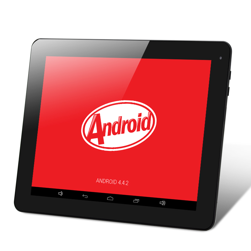 (M) E-Ceros Revolution Android 4.4 Tablet (Black) (M)