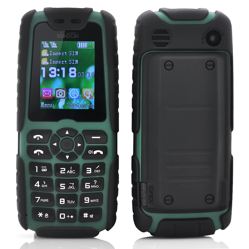 (M) Xiaocai X6 Phone (Green) (M)