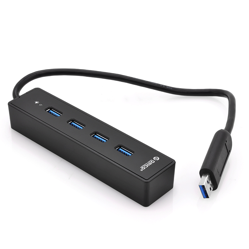 (M) x4 Port USB 3.0 Hub - Orico W8PH4 (B) (M)