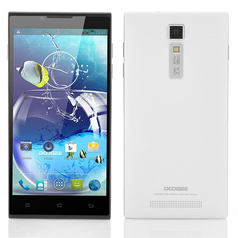 (M) DOOGEE DG2014 Quad Core Android Phone (White) (M)