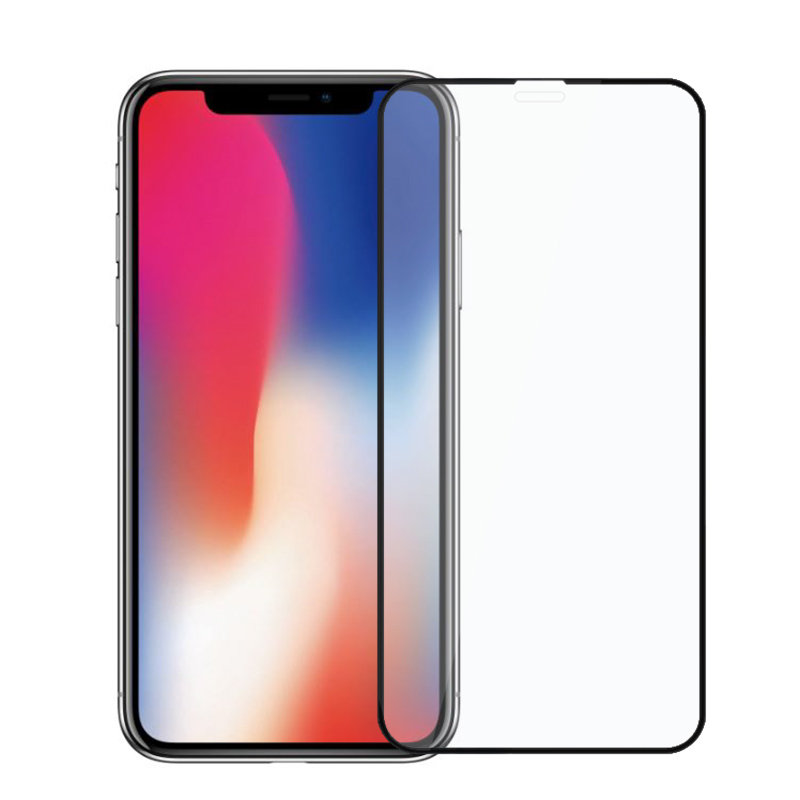 iPhone X Screen Protector - 2Pcs, Anti-Fingerprint, Bubble Free, Shatter Proof, Scratch Resistant, Dust Proof, High Transparency
