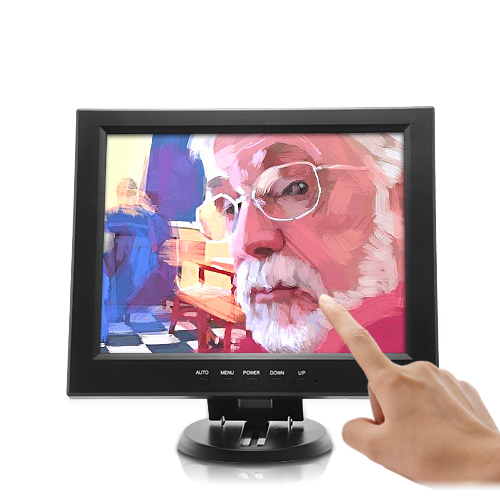 (M) 12 Inch LCD Touchscreen Monitor (M)